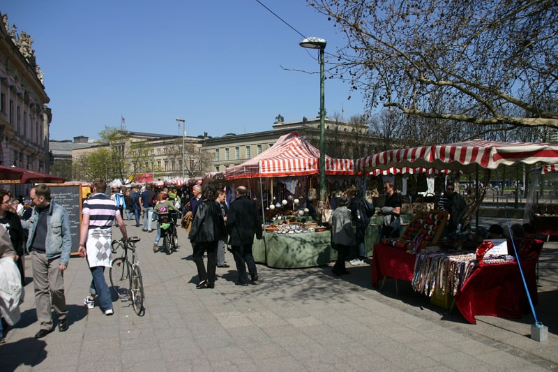 Bild Flohmarkt Museumsinsel