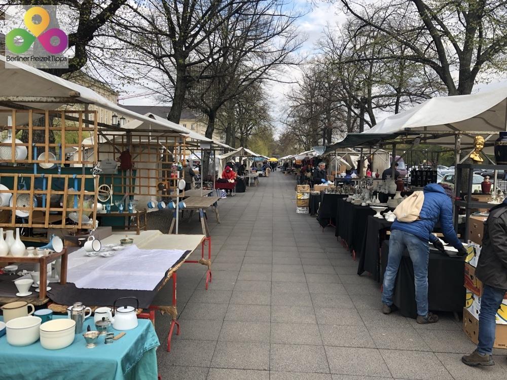Bild Trödelmarkt Straße des 17.Juni