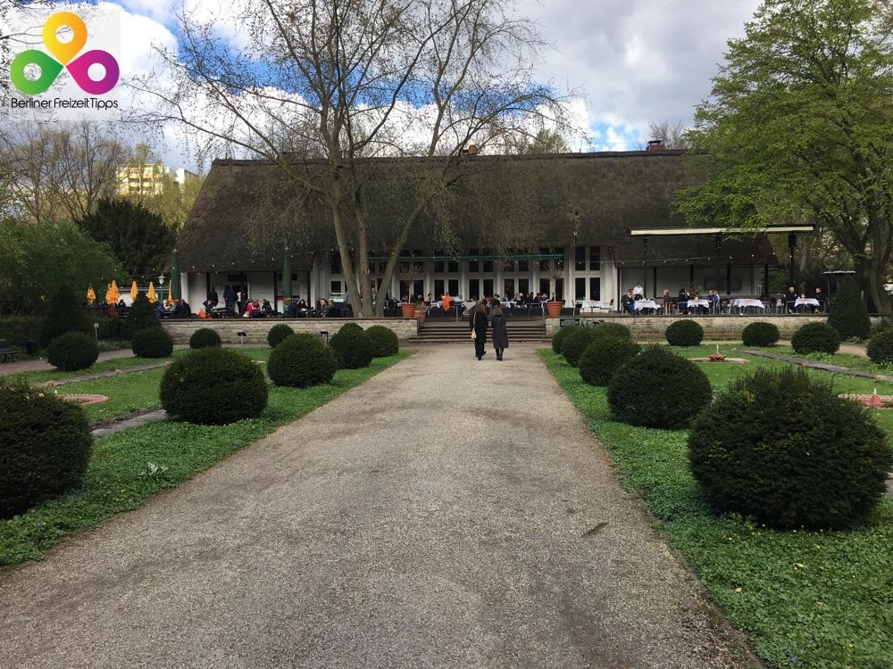 Bild Teehaus englicher Garten Park Tiergarten