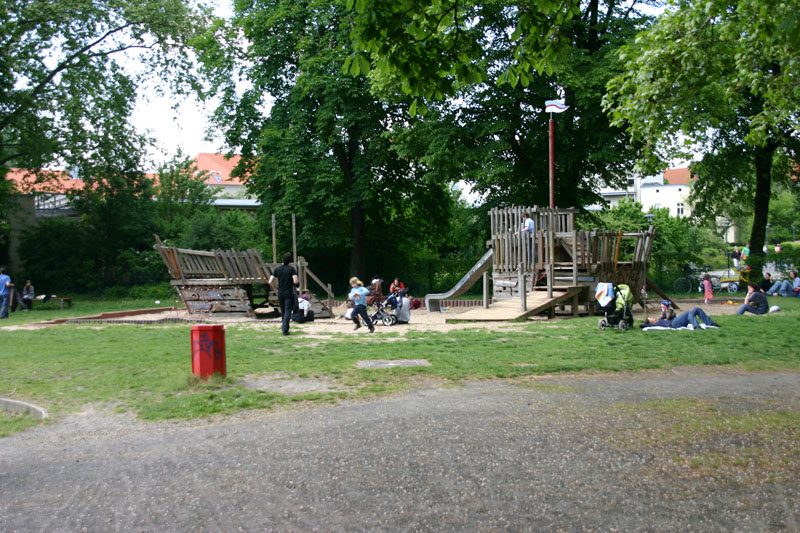 Plansche Weissensee Spielplatz