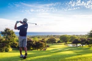 Bild-Golf-spielen