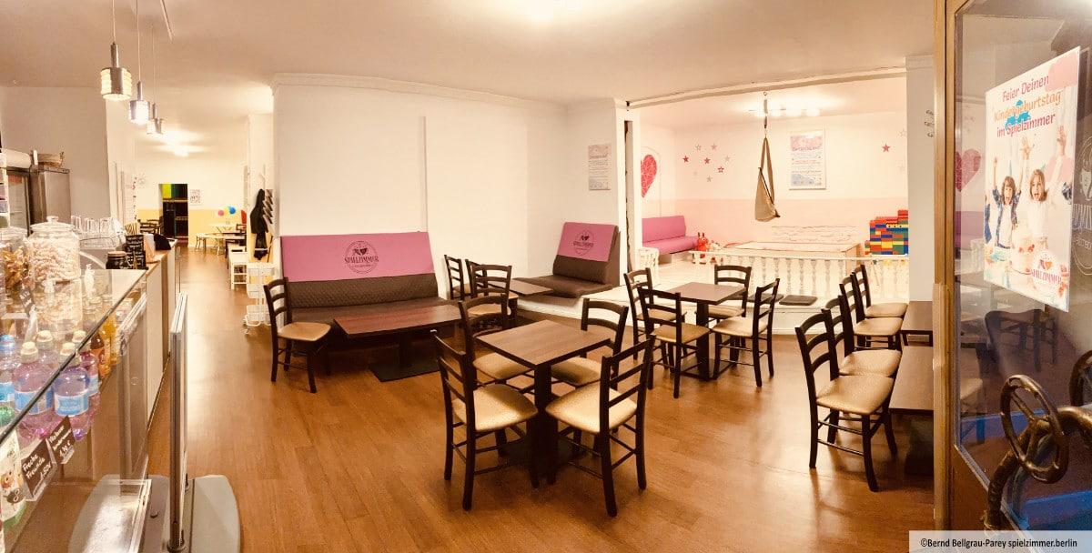 Das Spielzimmer Kindercafé im Prenzlauer Berg