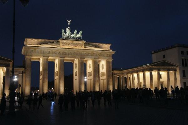 Bild Brandenburger Tor bei Nacht