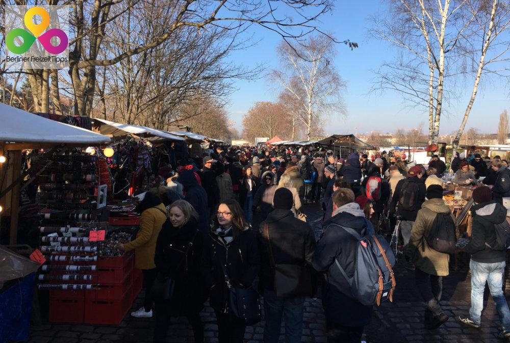 Bild Flohmarkt Mauerpark