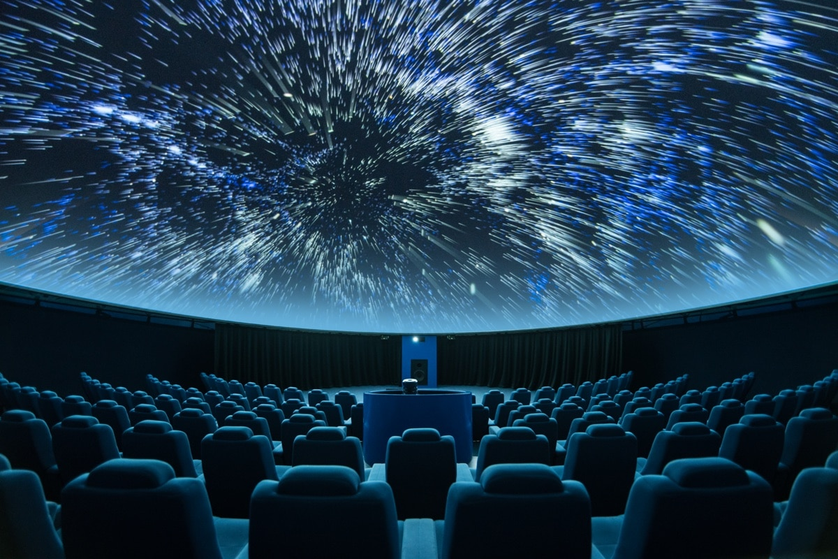 Wilhelm-Förster-Sternwarte mit Planetarium am Insulaner Berlin