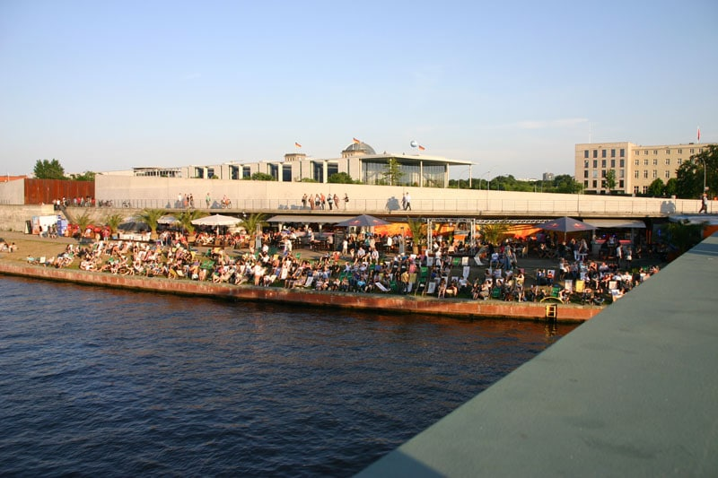 Bild Spreebar Capital Beach Mitte