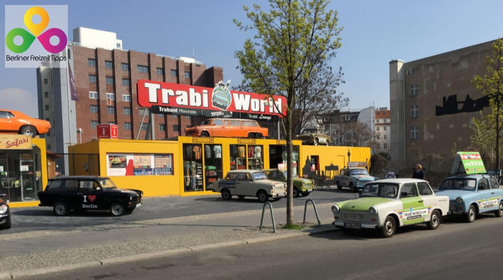 Trabi Safari mit Trabi World durch Berlin
