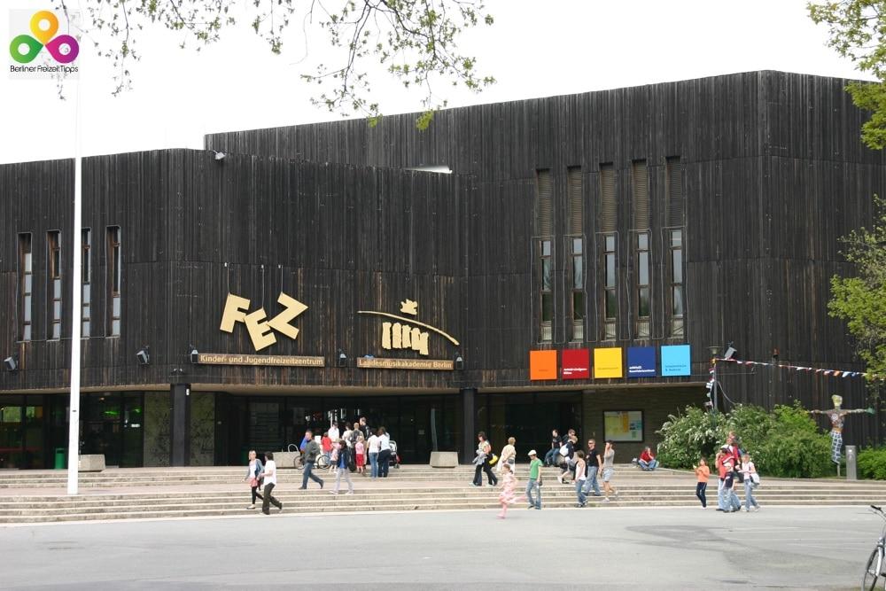 FEZ in Berlin Indoorspielplatz Rappelzappel Treptow Köpenick