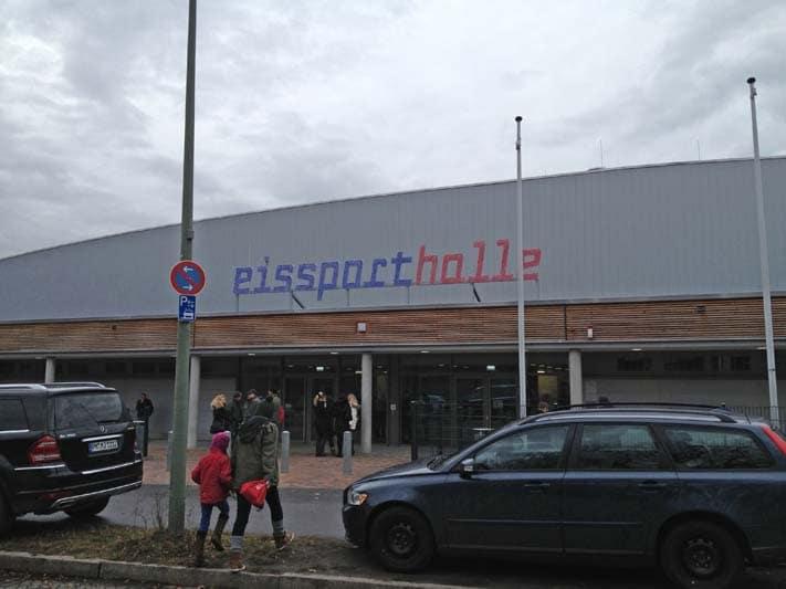 Eissporthalle Glockenturmstrasse in Charlottenburg Wilmersdorf