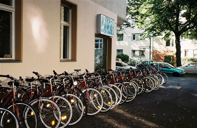 Fahrradvermietung Sterncafe Berlin Wedding / Mitte