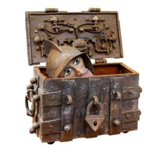 Bild Kiste Puppe Wunschkiste