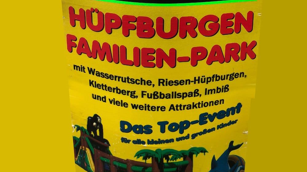 Bild Hüpfburgen Familien Park