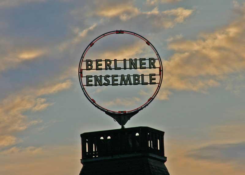 Berliner Ensemble das Theater am Schiffbauerdamm