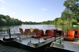 Bild Boots- und Tretbootverleih am Plötzensee im Wedding