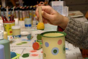 Bild Keramik bemalen in Kaulsdorf