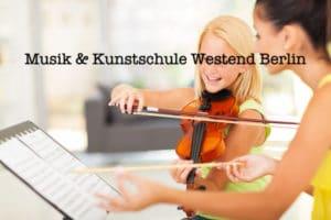 Bild Kurse Workshops Musik und Kunstschule Westend Berlin