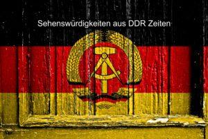 Foto Sehenswürdigkeiten DDR