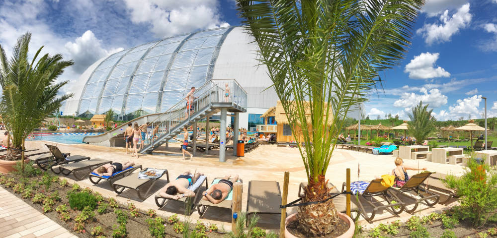 Tropical Island bei Berlin