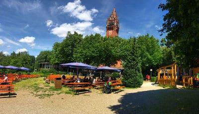 Bild Biergarten am Grunewaldturm Berlin