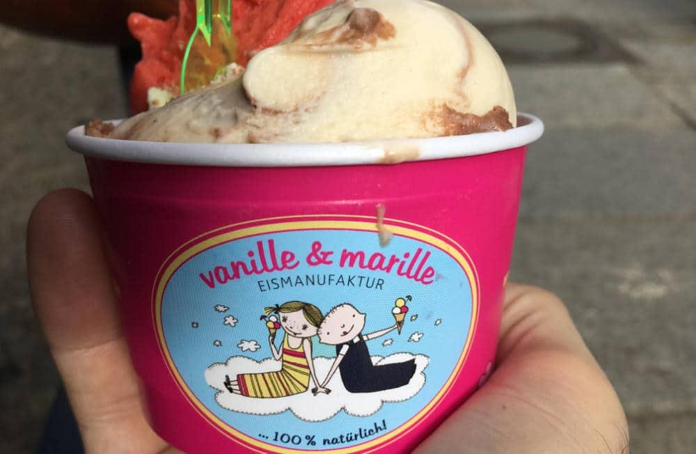 Eismanufaktur Vanille und Marille in Berlin