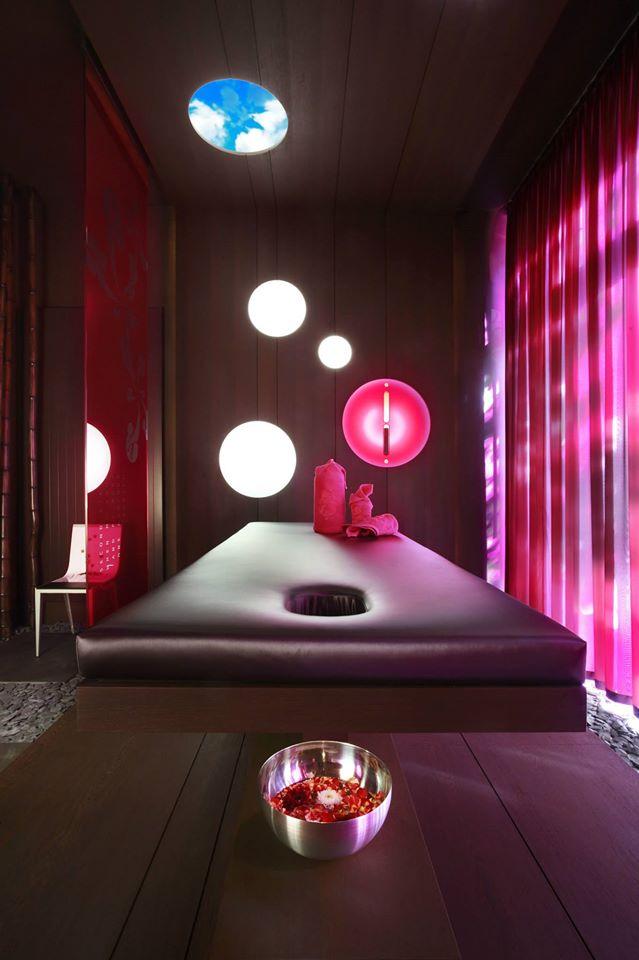 Yi Spa Bilder Brauner Raum