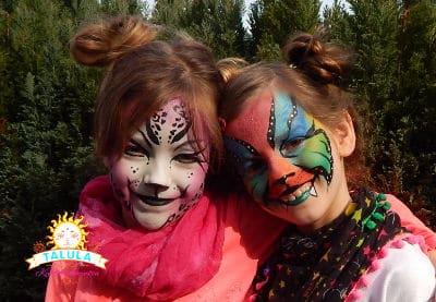 Talula Kinderschminken für Ihren Kindergeburtstag in Berlin