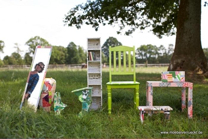 Upcycling Möbel & Workshops für Klein & Groß