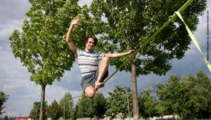 Bild Slackline in Berlin Workshops, Slackline Yoga