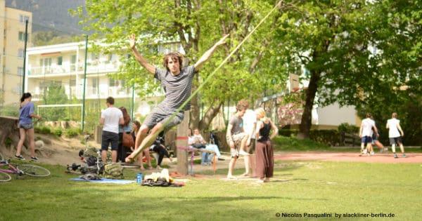 Bild Slackline Berlin Workshop Events