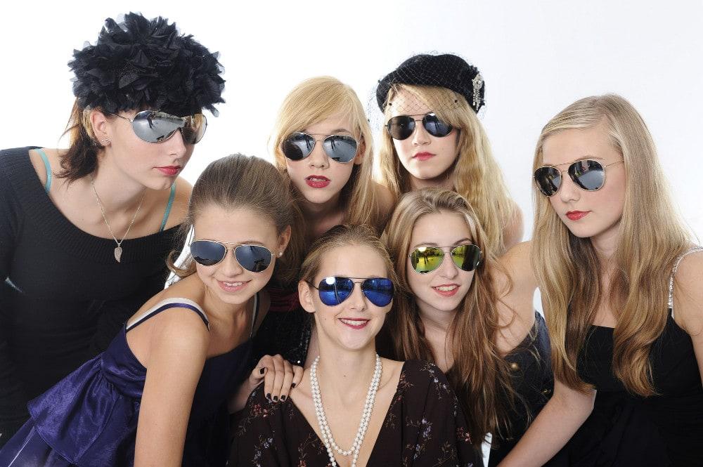 Bild Covershoot Fotografie für Geburtstagsparty Junggesellinnenparty