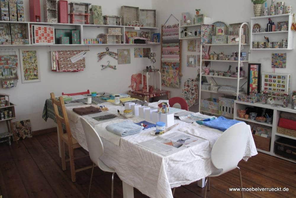 Bild Workshop: Upcycling für alte Möbel Berlin Workshop