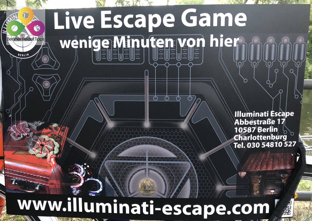 Escape Game bei Illuminati Escape