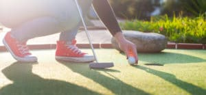 Bild Biergarten Minigolfanlage Hertzberg Golf