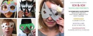 Ausstellung in der Klax Kinderkunstgalerie: ICH & ICH – Selfies und Portraits