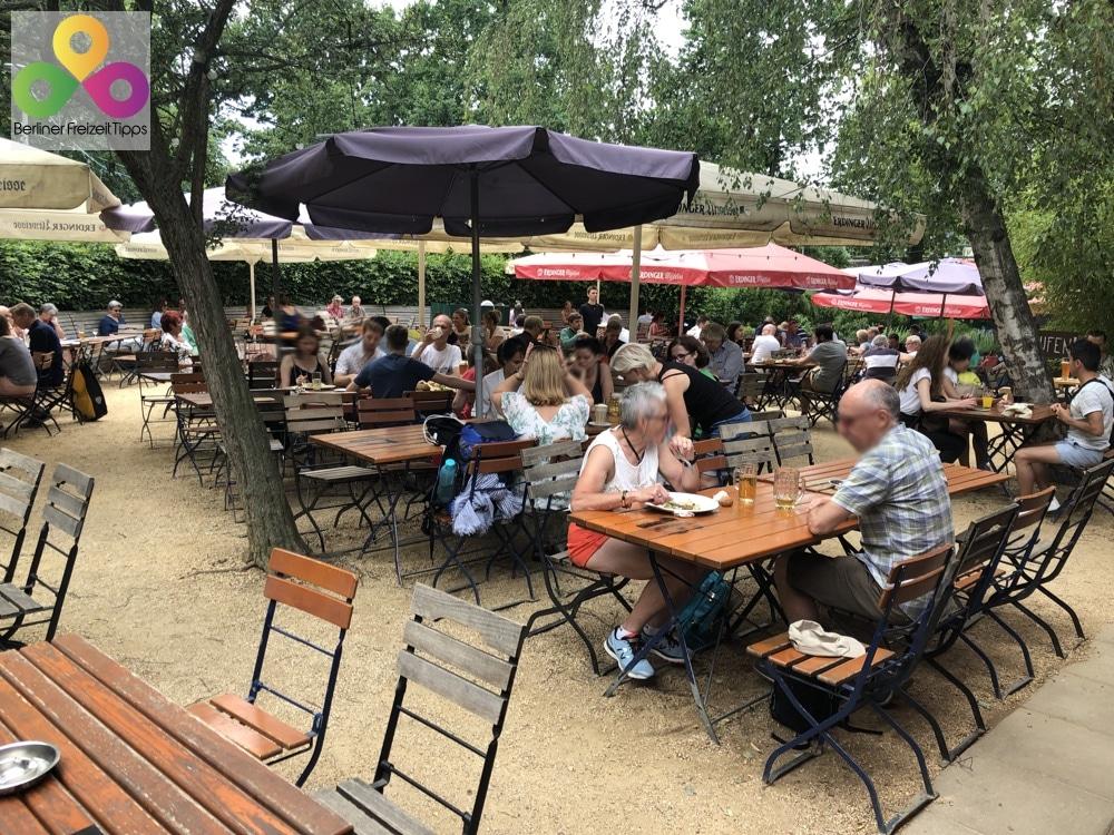 Biergarten Schleusenkrug am Tiergarten