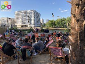 Bild Strandbar Sage Beach Kreuzberg Friedrichshain