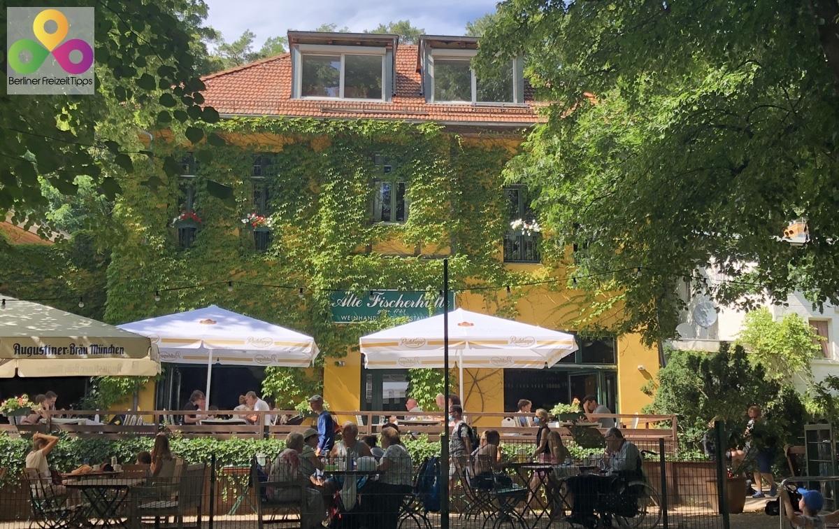 Bild Biergarten Restaurant Fischerhütte Schlachtensee