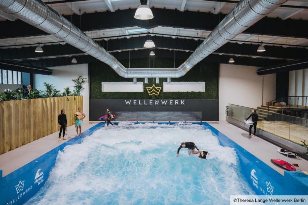 Wellenwerk Indoor Surfhalle in Lichtenberg