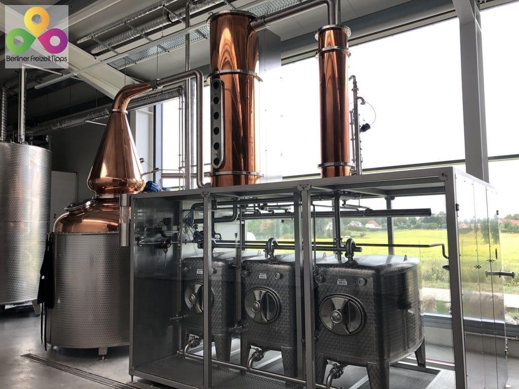 Bild Glina Whisky gläserne Brennerei