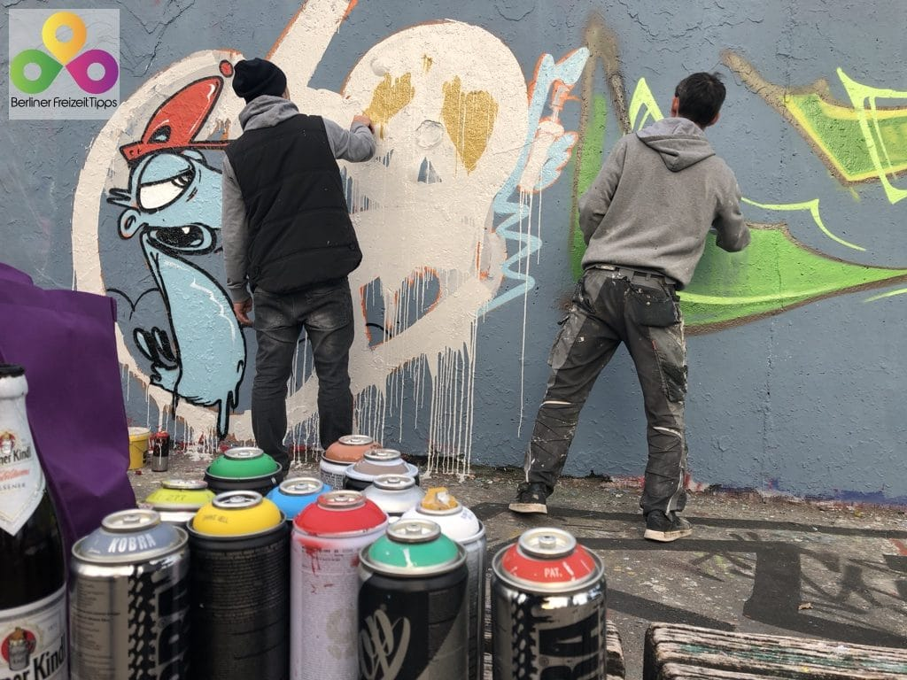 Graffiti in Berlin | Meine Meinung und Graffiti Shops