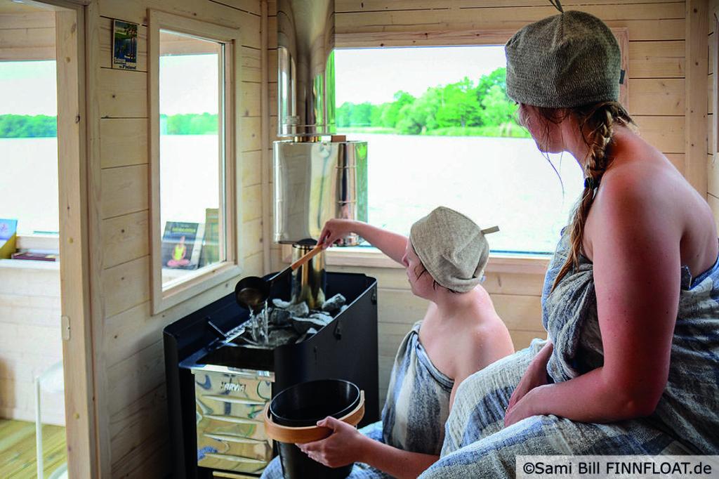 Bild Finnfloat Sauna