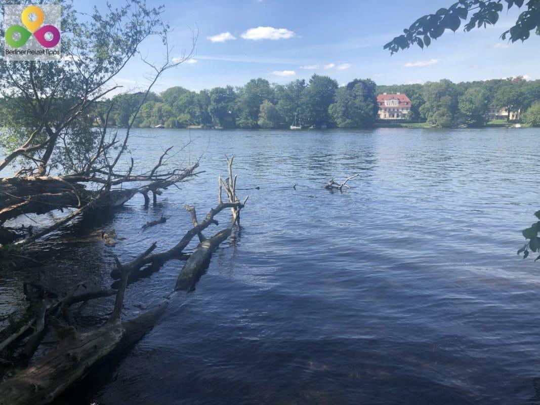Wanderung Krampnitzsee Lehnitzsee Schloss Sacrow Havel