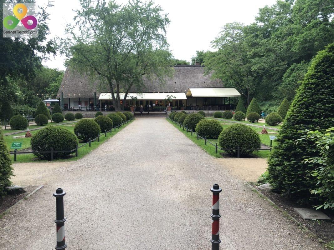 Bild englischer Garten Tiergarten