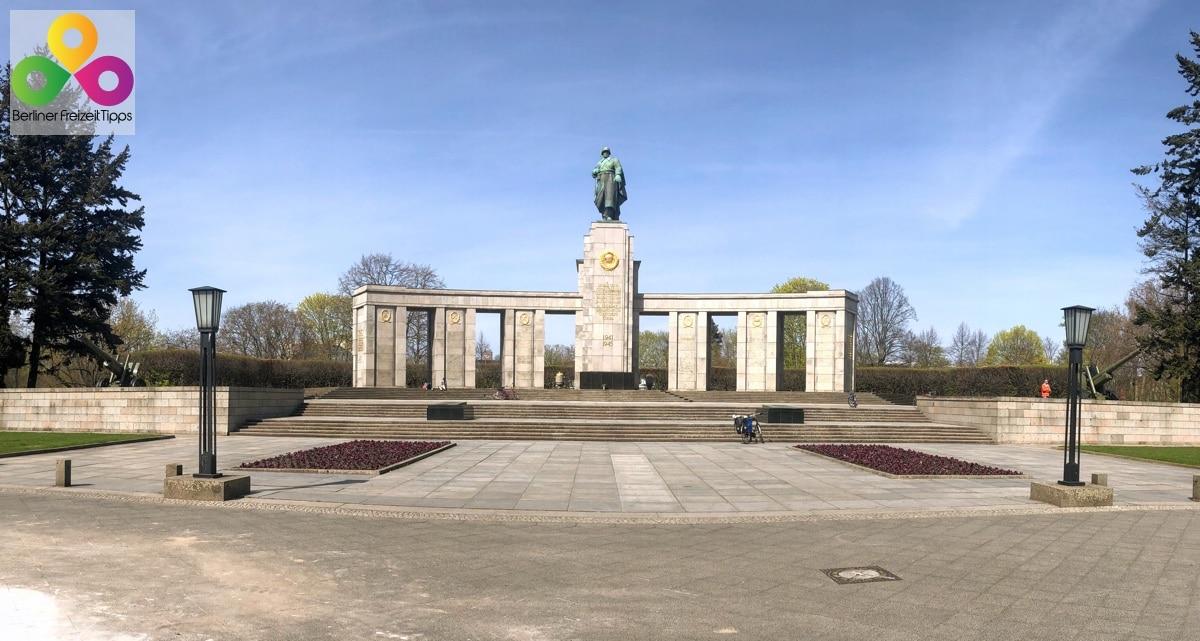 Bild sowjetisches Ehrenmal im Tiergarten