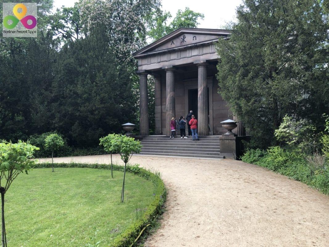 Bild Mausoleum Schloss Charlottenburg