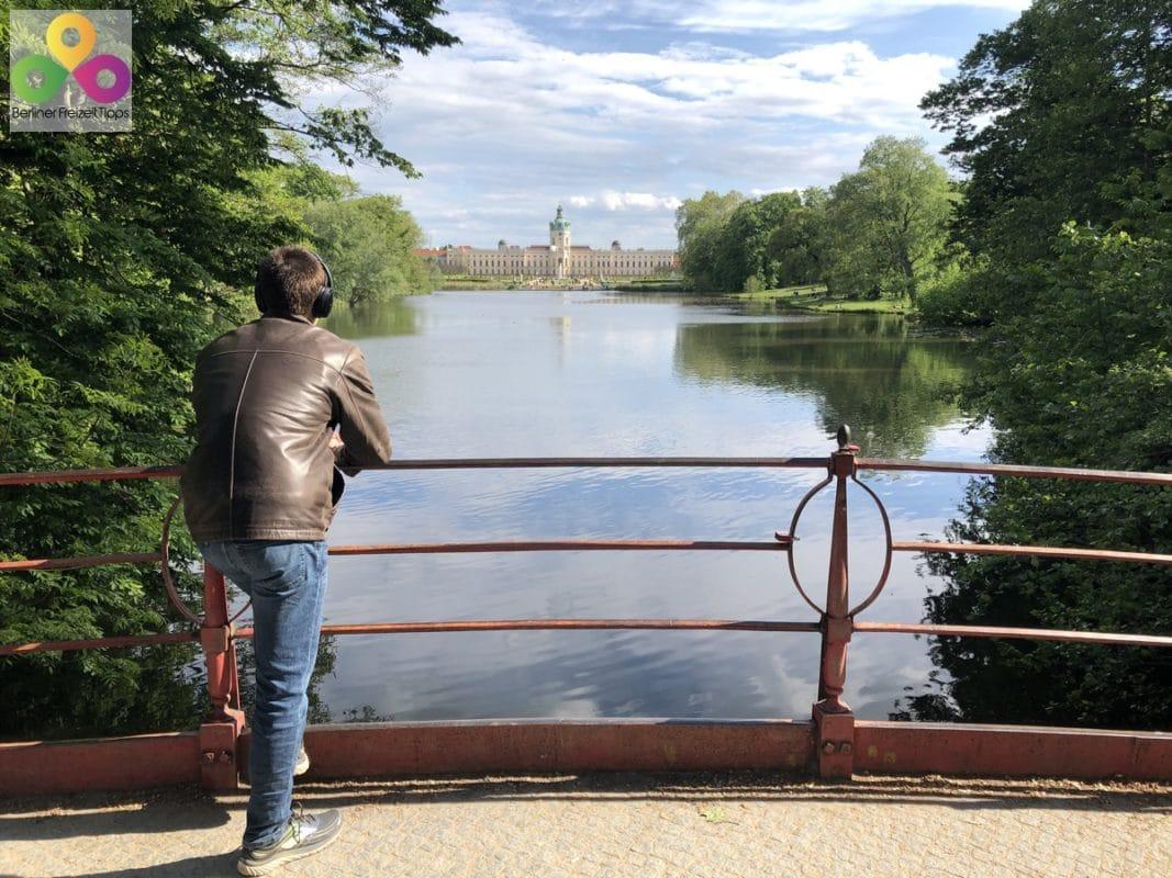 Brücke Karpfenteich Schlosspark Charlottenburg