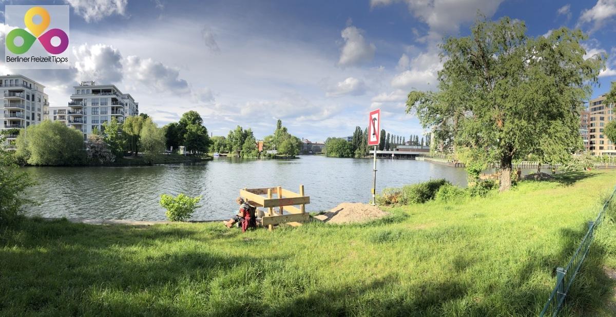Bild Spree Chatlottenburger Schiffahrtskanal Landwehrkanal