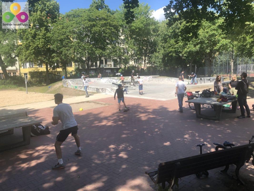 Skateanlage Volkspark Friedrichshain