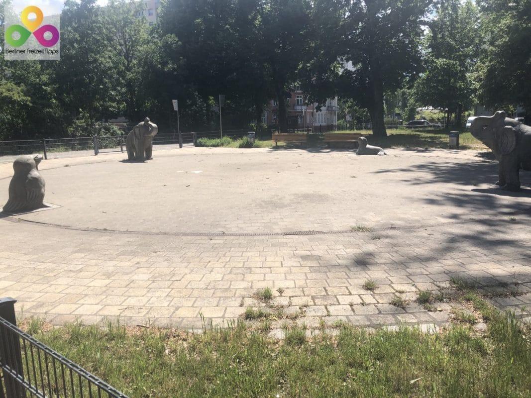 Plansche Volkspark Friedrichshain