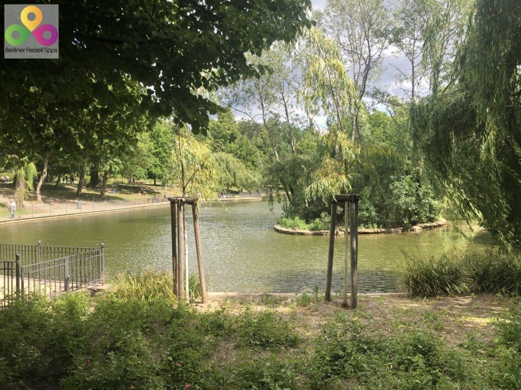 Großer Teich Volkspark Friedrichshain